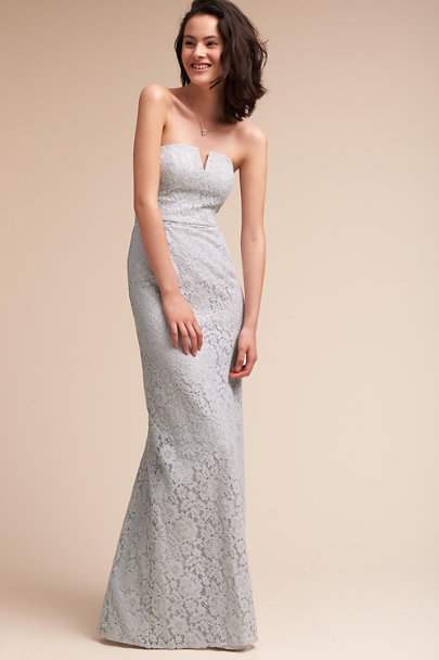 Donna Morgan Platinum Winsome Dress | BHLDN