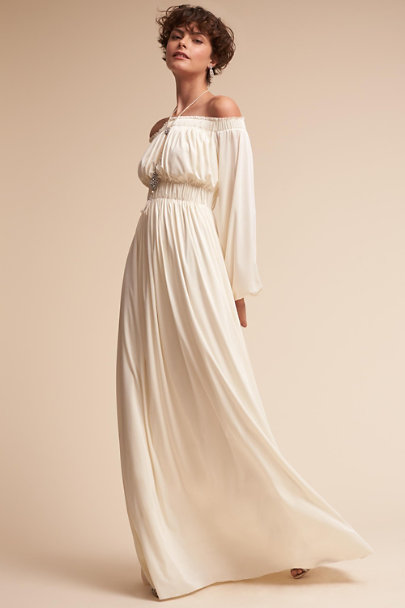 Catherine Deane Cream Miranda Gown | BHLDN