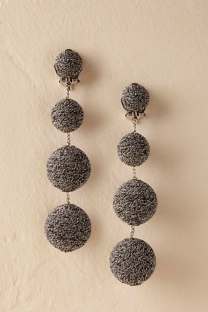 Black Torres Earrings  | BHLDN
