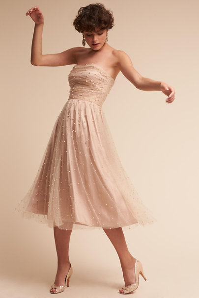 Ivory/Nude Anya Dress | BHLDN