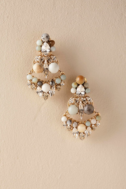 Gold Orsino Earrings | BHLDN