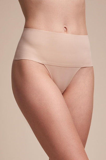 Nude SPANX Smoothing Thong | BHLDN