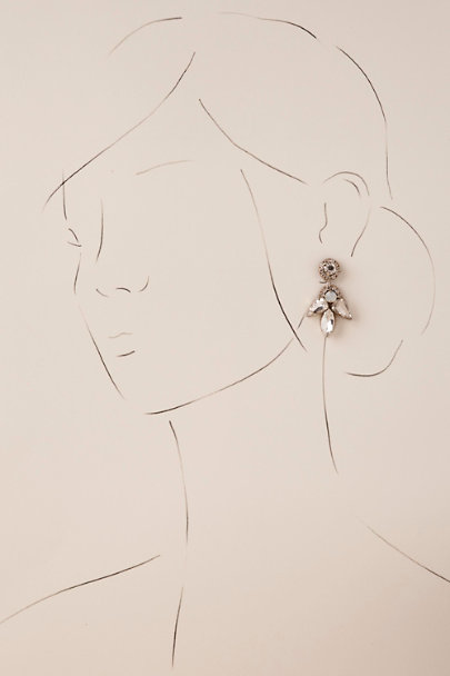 Silver Mandi Earrings  | BHLDN