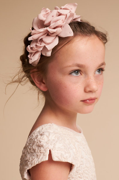 Blush Blooming Headband | BHLDN