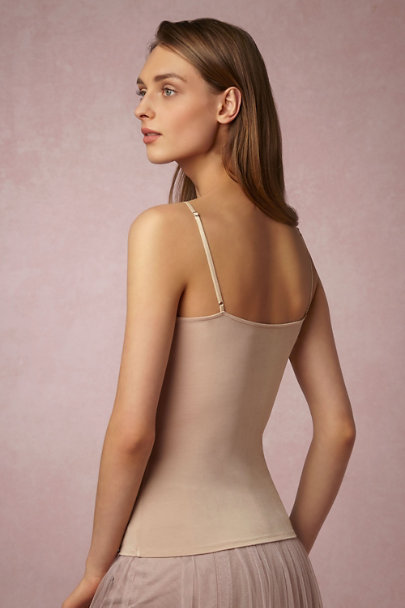 Tracy Reese Nude Bare Camisole Top | BHLDN