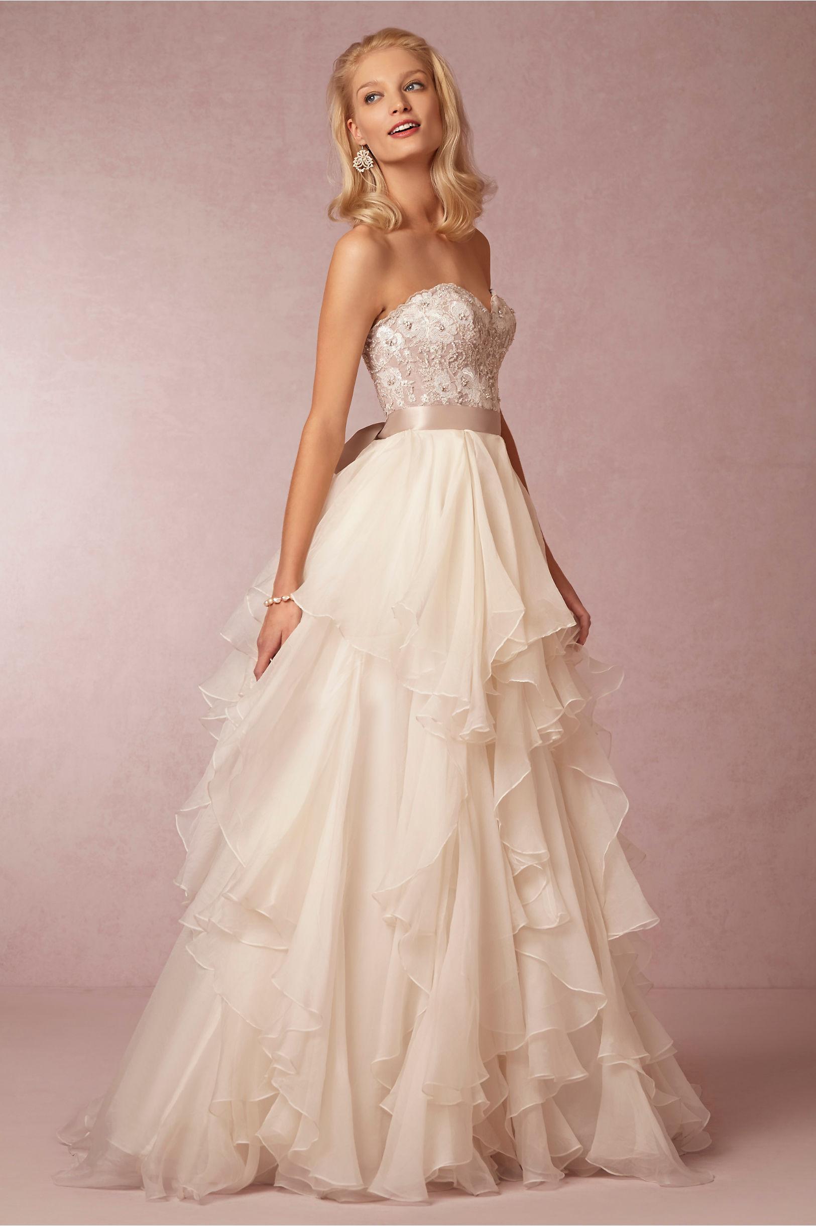 wedding dress corset and skirt corset style wedding dresses Maelin Corset Priya Skirt Bhldn