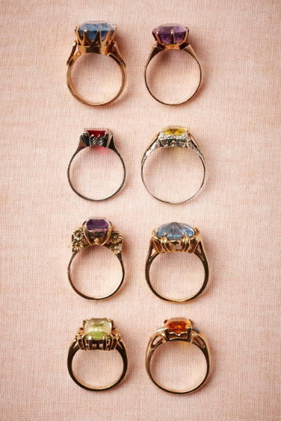 Vintage Cocktail Rings