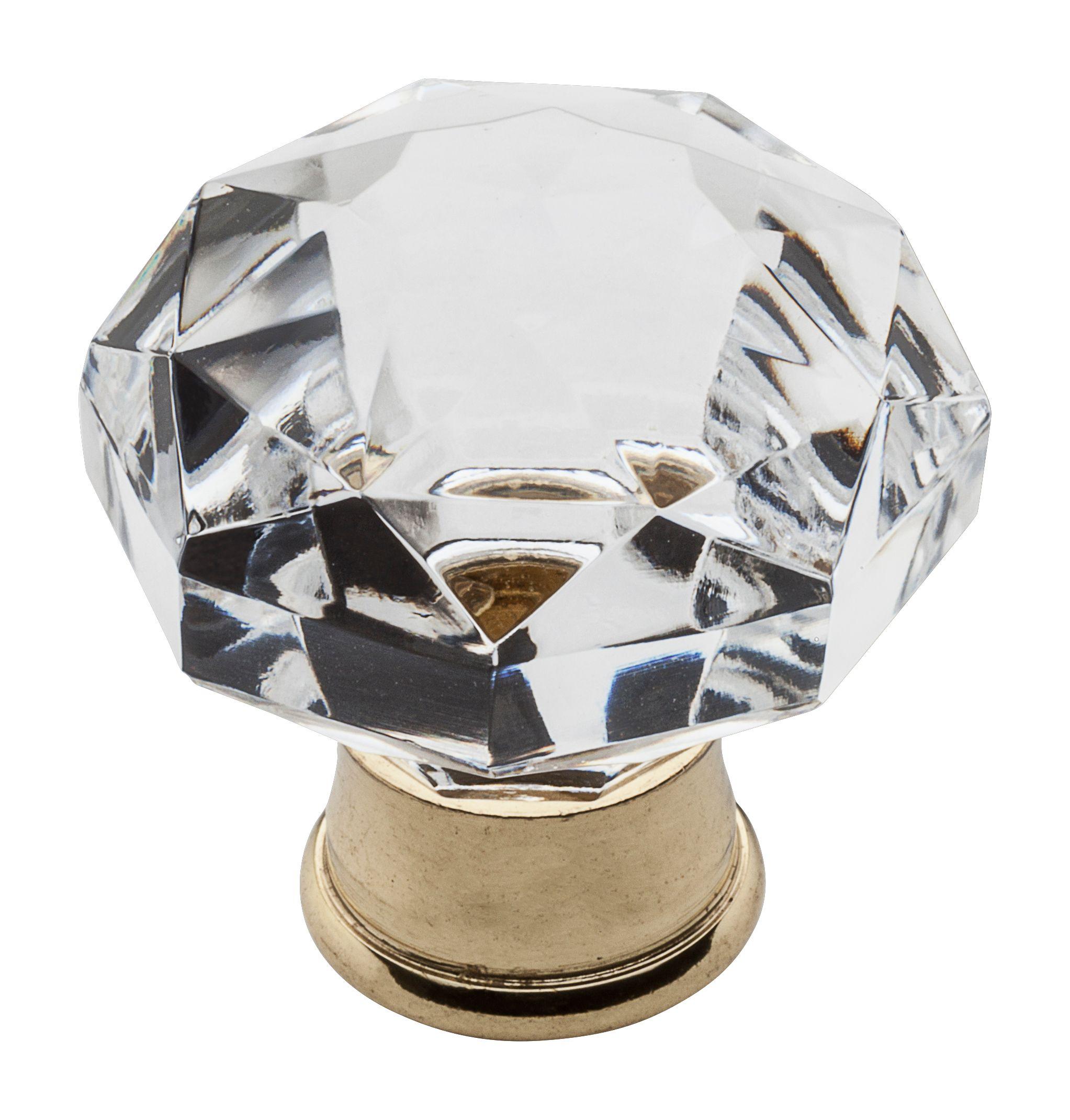 Crystal Cabinet Knob 4323 030