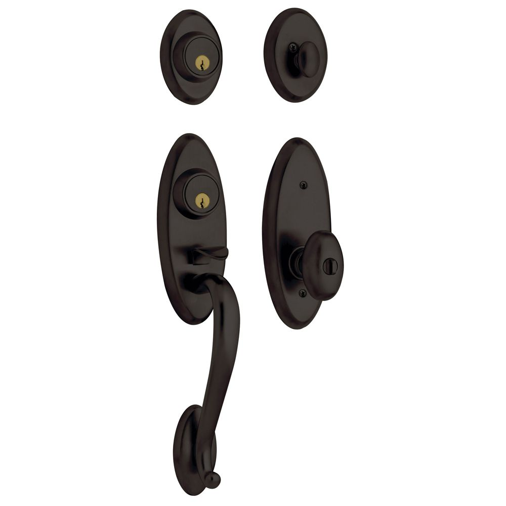 Landon Two-Point Lock Knob Handleset