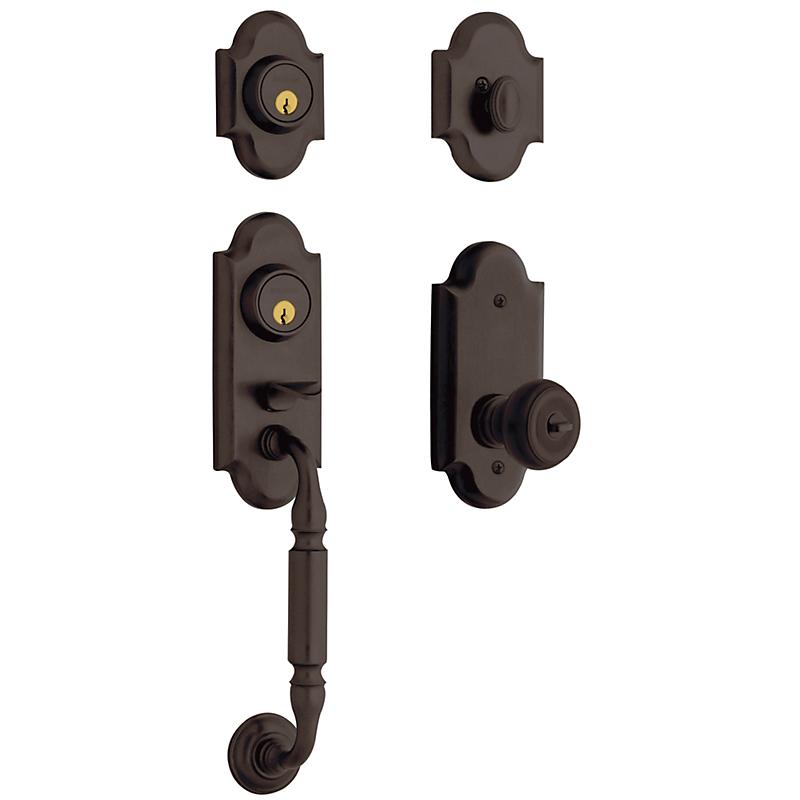 Ashton Two Point Lock Handleset 85365 112