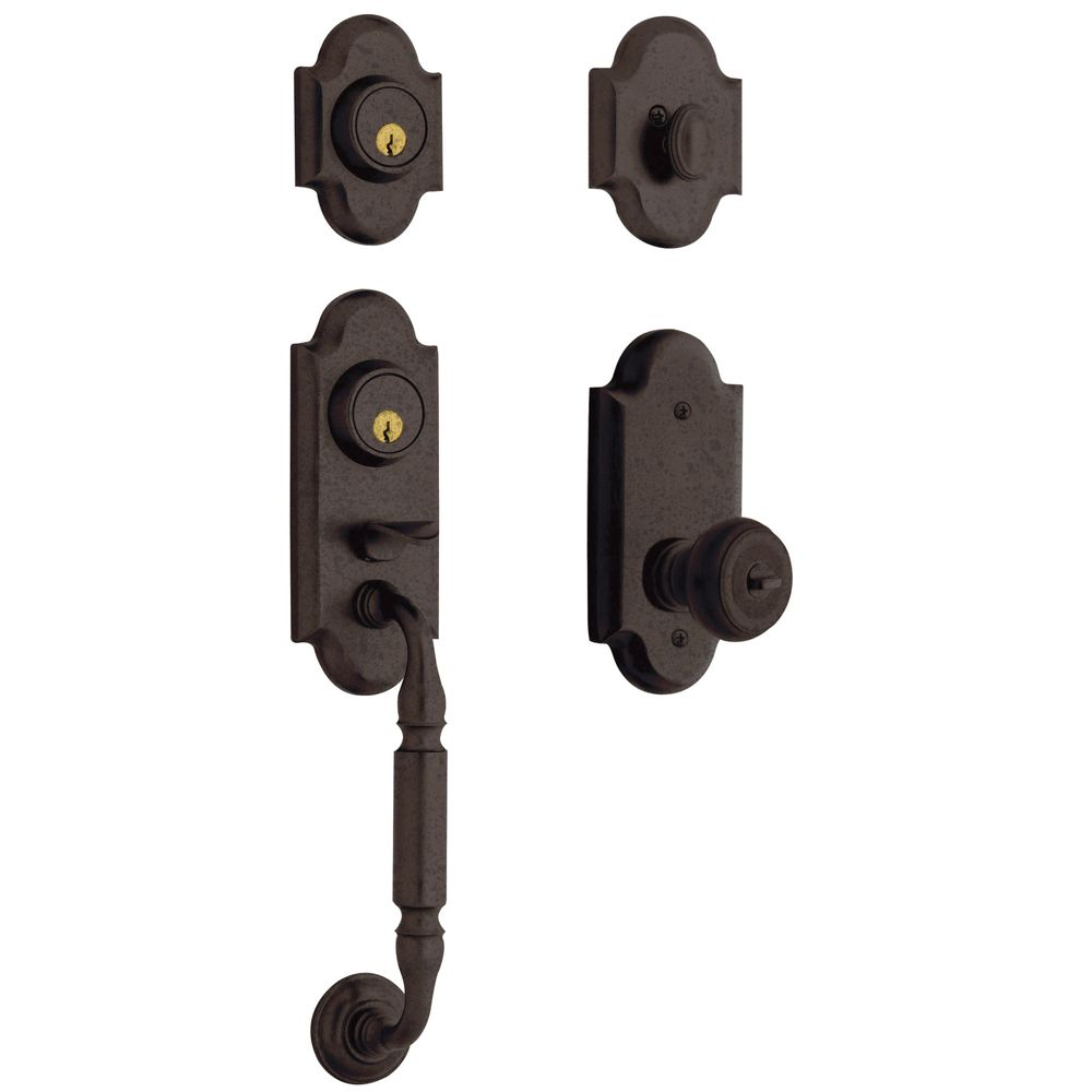 Ashton Two-Point Lock Knob Handleset
