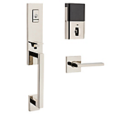 Evolved Minneapolis 3/4 Escutcheon Handleset