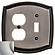 4791 Outlet Single Toggle