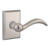 Arch Reserve Lever with Rustic Square Rose