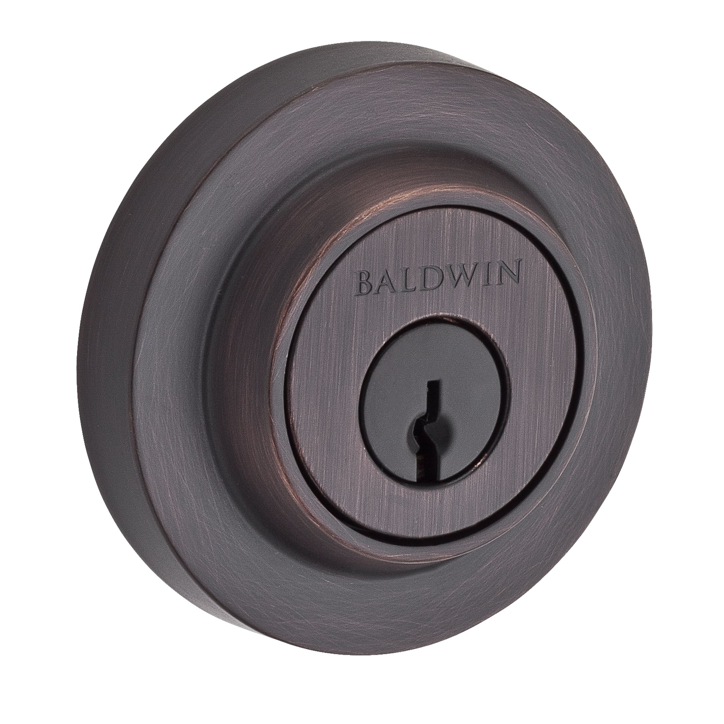 Contemporary Round Deadbolt