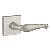 Decorative Reserve Lever with Contemporary Square Rose