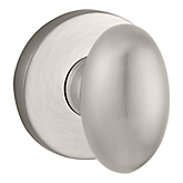 Ellipse Reserve Knob with Contemporary Round Rose