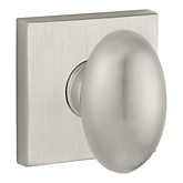 Ellipse Reserve Knob with Contemporary Square Rose