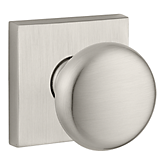 Round Reserve Knob with Contemporary Square Rose