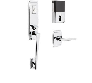 Evolved Palm Springs 3/4 Escutcheon Handleset