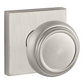 Traditional Reserve Knob with Contemporary Square Rose