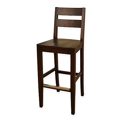 Buy American Heritage Tyler Bar Height Stool In Brown Set Of 2 From Bed Bath Beyond