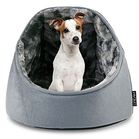 Precious Tails Micro Mink Round Hooded Dome Pet Bed Bed