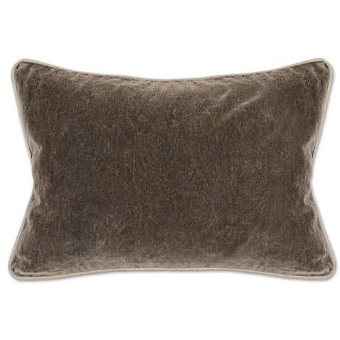 Villa Home Velvet Heirloom Oblong Throw Pillow - Bed Bath & Beyond