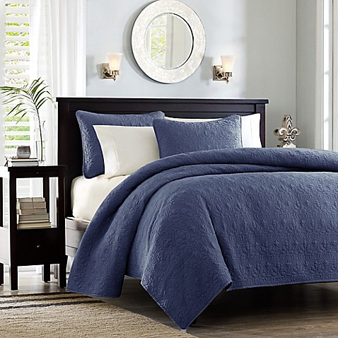 Madison Park Quebec Coverlet Mini Set at Bed Bath & Beyond in Cypress, TX | Tuggl