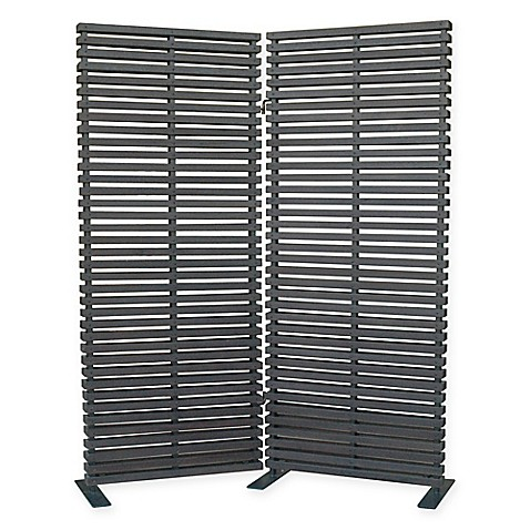 Buy Moe 39 S Home Collection Dasha 2 Panel Room Divider In