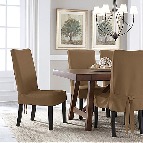 Perfect Fit 174 Smooth Suede Relaxed Fit Dining Chair Short