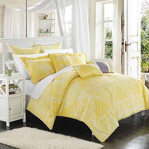 Chic Home Parma 6 8 Piece Reversible Comforter Set Bed Bath Beyond