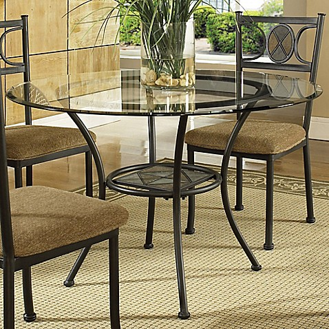 Steve Silver Co Carolyn Dinner Table And Chair Set Bed
