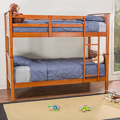 Baxton Studio Wexford Twin Bunk Bed In Brown Bed Bath Beyond