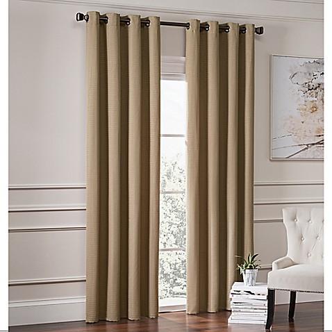 Garland Lined Grommet Top Room Darkening Window Curtain Panel Bed Bath Amp Beyond