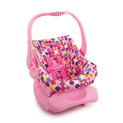 joovy toy infant car seat in pink from buy buy baby. Black Bedroom Furniture Sets. Home Design Ideas