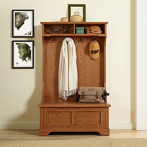 Crosley Furniture Campbell Hall Tree at Bed Bath & Beyond in Cypress, TX | Tuggl