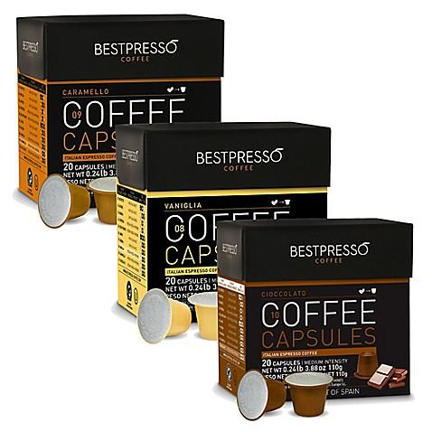 bestpresso 120 count flavor variety pack nespresso. Black Bedroom Furniture Sets. Home Design Ideas