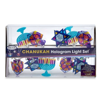 String Lights Bed Bath And Beyond : Chanukah Hologram 10-Light String Light Set - Bed Bath & Beyond
