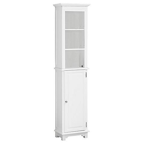 Wakefield No Tools Bath Tower In White by Bed Bath And Beyond