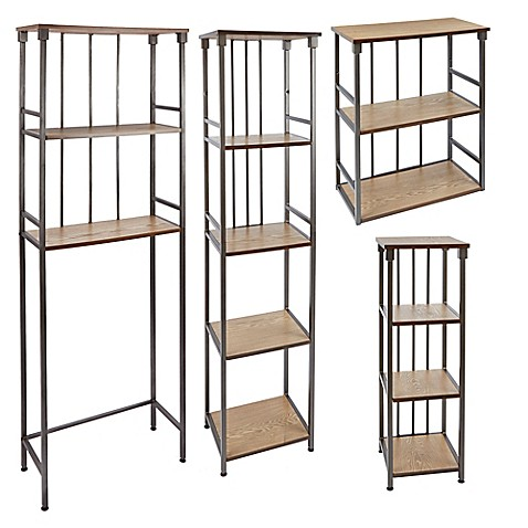 Silverwood Bathroom Shelving at Bed Bath & Beyond in Cypress, TX | Tuggl