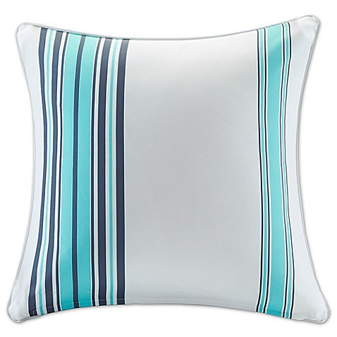 Madison Square 18-Inch Decorative Pillows : Buy Madison Park Newport 26-Inch Square Throw Pillow in Blue from Bed Bath & Beyond