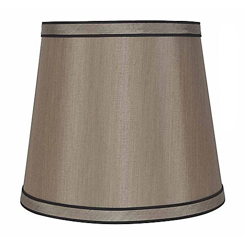 Mix Amp Match Small Lamp Shade In Gold With Black Trim Bed