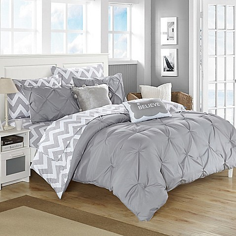 Chic home parkerville comforter set bed bath beyond - Bed bath and beyond bedroom furniture ...