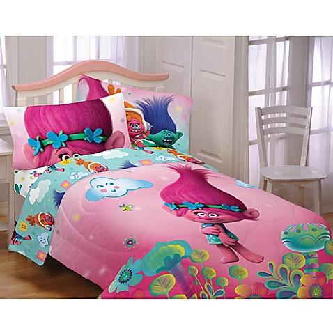 Trolls Hugs Harmony Twin Full Comforter Bed Bath Amp Beyond