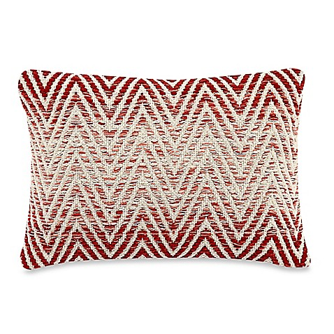Red Throw Pillow For Bed : Rectangle Lucknow Throw Pillow in Red - Bed Bath & Beyond