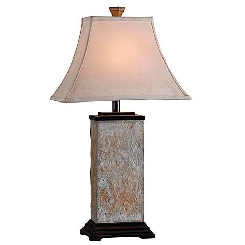 Kenroy Home Bennington Table Lamp In Slate Bed Bath Amp Beyond
