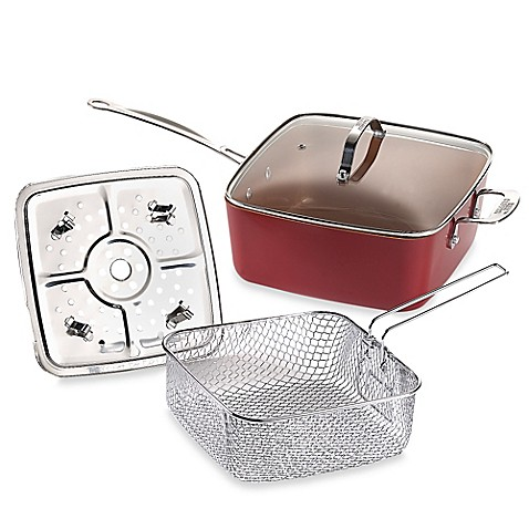 Red Copper Pan Set Bed Bath And Beyond