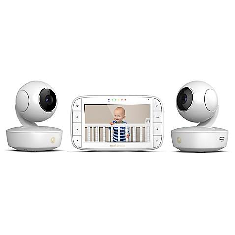 video monitors motorola mbp36xl 2 portable 5 video baby monitor w. Black Bedroom Furniture Sets. Home Design Ideas