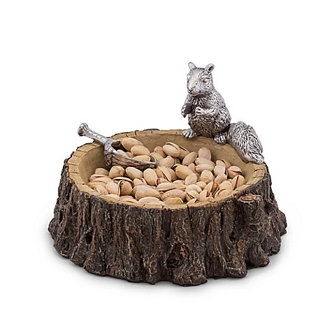 Arthur Court Designs Standing Squirrel Nut Bowl And Scoop Bed Bath Amp Beyond